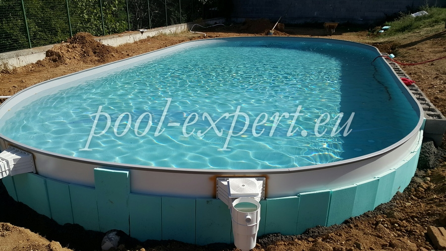 Prefabricated steel wall swimming pools - what to take into ...