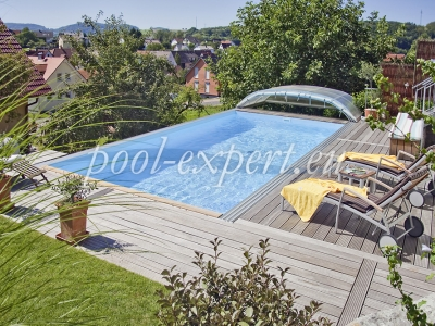 Rectangular swimming pool Styropool 900 x 500 x 150 cm